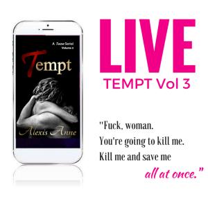 Tempt 3 LIVE